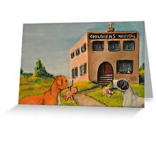 Unkind Pit Bulls~Sarcastic~Love~Giving~Dog Greeting Card