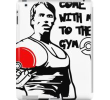 """Come With Me To The Gym"" Arnold Pokemon  iPad Case/Skin"