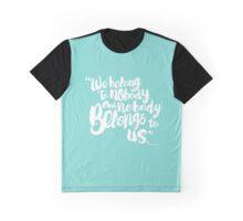 Tiffany Blue Graphic T-Shirt