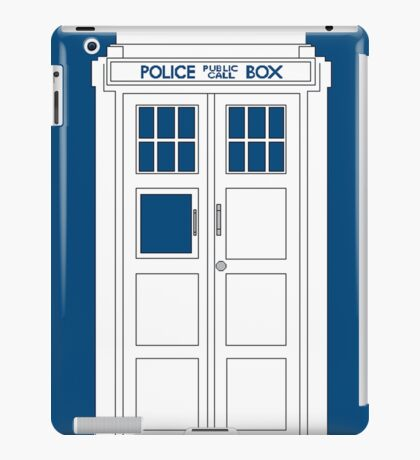 Inverted Tardis iPad Case/Skin