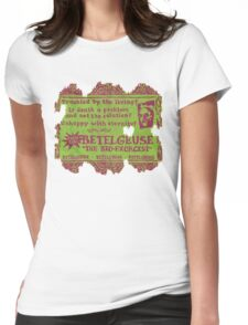 """""""Say my name three times..."""" Womens Fitted T-Shirt"""
