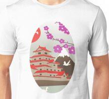 Japanese Pagoda Unisex T-Shirt