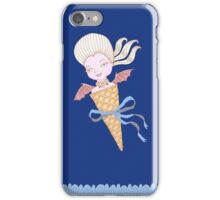 Marie Antoinette Ice Cream Cone with Bat Wings iPhone Case/Skin