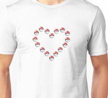 Pok-e-heart Unisex T-Shirt