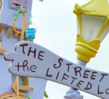 The Street of the Lifted Lorax Sticker