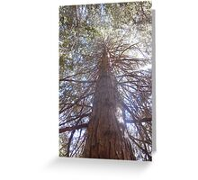 tree of a creature Greeting Card