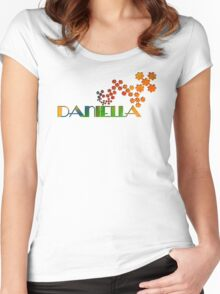 The Name Game - Daniella Women's Fitted Scoop T-Shirt