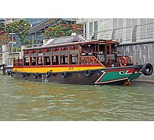 Canal Cruiser Photographic Print