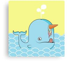 Narwhale Canvas Print