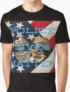 POLICE LIVES MATTER Graphic T-Shirt