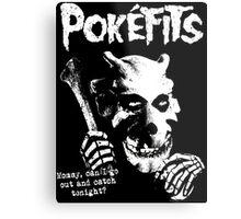 Pokefits Metal Print