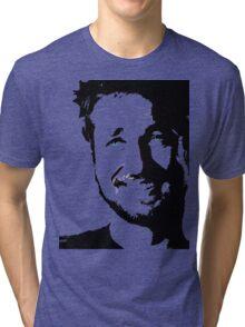 Gerard Butler Tri-blend T-Shirt