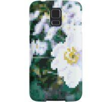different 8bit flower Samsung Galaxy Case/Skin