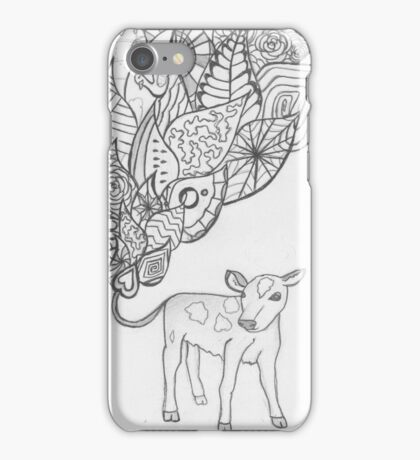 Betsy the Calf iPhone Case/Skin