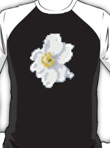 different 8bit flower T-Shirt