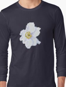 different 8bit flower Long Sleeve T-Shirt