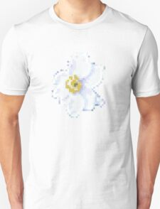different 8bit flower Unisex T-Shirt