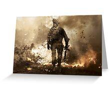 Modern Warfare 2 Greeting Card