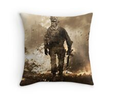 Modern Warfare 2 Throw Pillow