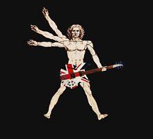 VITRUVIAN MAN GUITAR Unisex T-Shirt