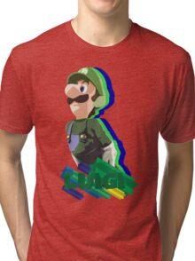 LUIGI TIME! Tri-blend T-Shirt