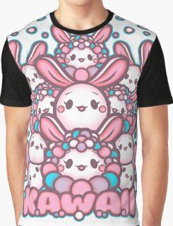 Kawaii Bunny and Friends. Kawaii Dust Bunnies and Friends. Adorable bunniess Graphic T-Shirt
