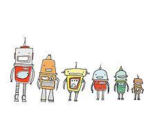 Cute Robots Photographic Print
