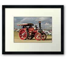 "Burrell 6nhp Road Locomotive No.3593 ""Duke of Kent"" Framed Print"