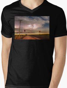 Intersection Storm Mens V-Neck T-Shirt