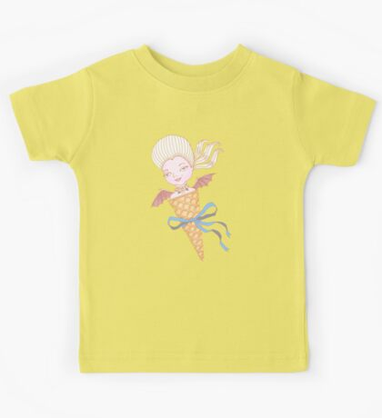 Marie Antoinette Ice Cream Cone with Bat Wings Kids Clothes