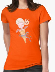 Marie Antoinette Ice Cream Cone with Bat Wings T-Shirt