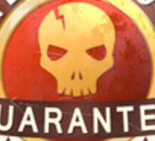 headshot guarantee sticker Sticker