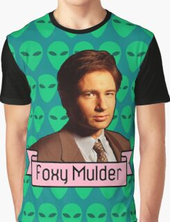 Foxy Mulder ft. Aliens Graphic T-Shirt