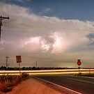 Lightning Leading Lines by Bo Insogna