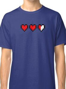 Two and a half hearts Classic T-Shirt
