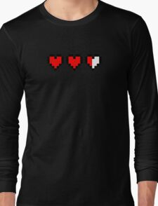Two and a half hearts Long Sleeve T-Shirt