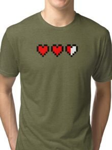 Two and a half hearts Tri-blend T-Shirt