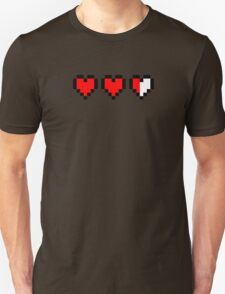 Two and a half hearts Unisex T-Shirt