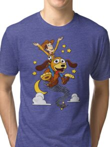The Neverending Toy Story Tri-blend T-Shirt