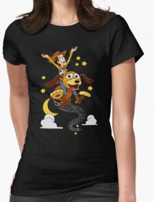 The Neverending Toy Story Womens Fitted T-Shirt
