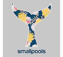 Smallpools Floral Whale's Tail Design Photographic Print