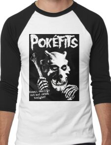 Pokefits Men's Baseball ¾ T-Shirt