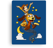 The Neverending Toy Story Canvas Print