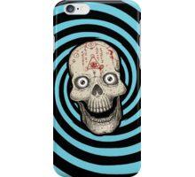 Hypnotica Spiral Skull iPhone Case/Skin