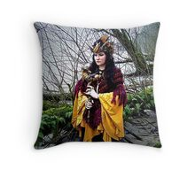 Incantation  Throw Pillow