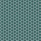 Abstract Geometric 0909(07) - Dark Green by Artberry