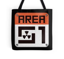 Area 51 Sign Tote Bag