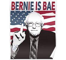 Bernie is Bae Poster