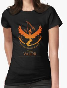 TEAM VALOR - T-Shirt / Phone Case / Mug / More Womens Fitted T-Shirt