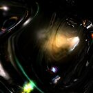 Dark Matter Disruptions III by Hugh Fathers